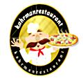 لوجو مطعم كهرمان المتكامل