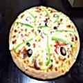 لوجو بيتزا مكس المساحه