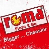 لوجو روما بيتزا تو جو