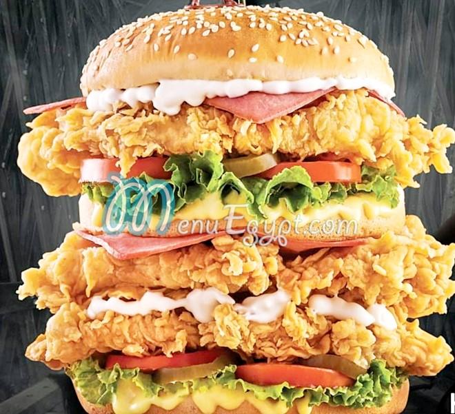 Dragon chicken menu