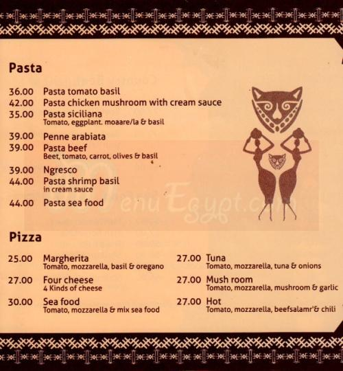 Aksyaa menu Egypt