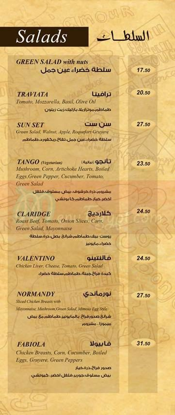Creperie Des Arts delivery menu