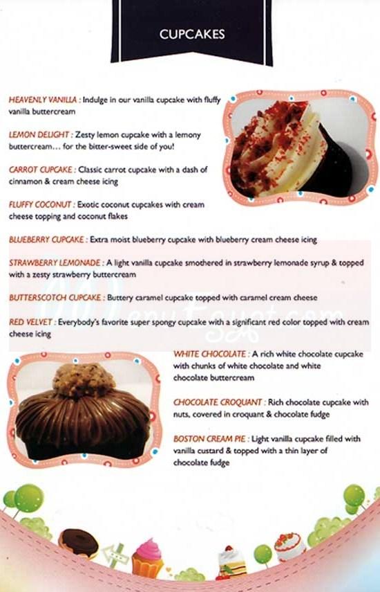 Devour menu