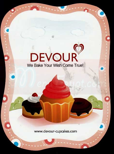 Devour online menu
