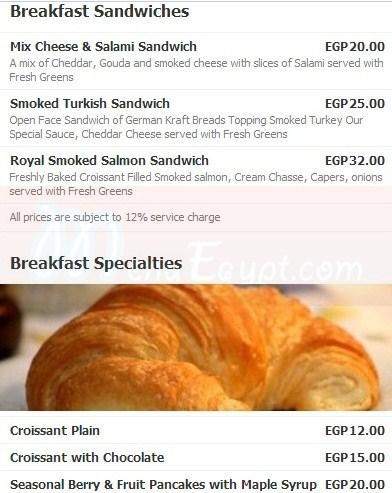 Dishes online menu