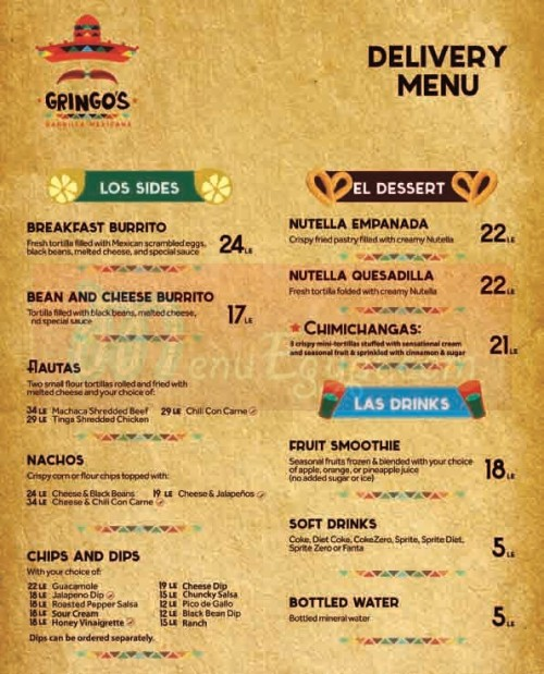 Gringos Burrito egypt