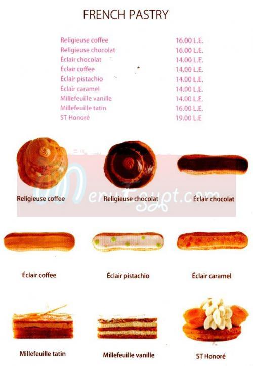 La Gourmandise online menu