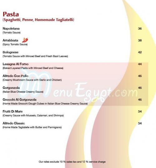 مطعم لا بيتزا ألفورنو  مصر