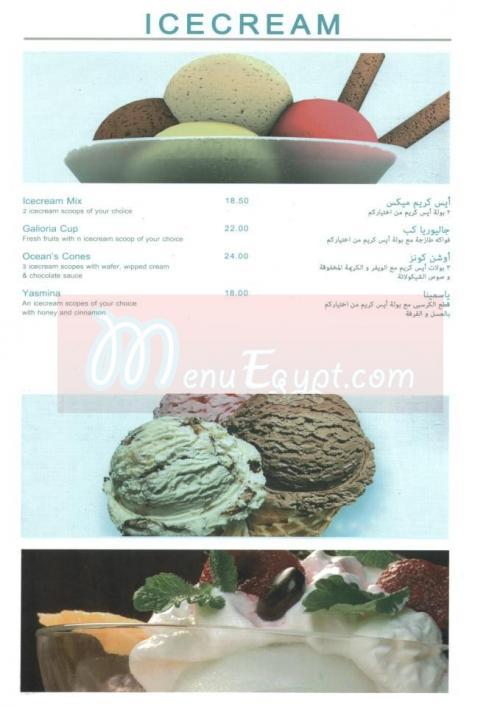 منيو اوشينز  مصر 5