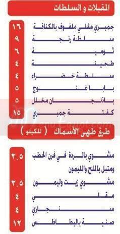 سمكيون  مصر منيو بالعربي
