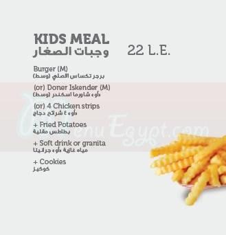 Sandwichini menu Egypt 2