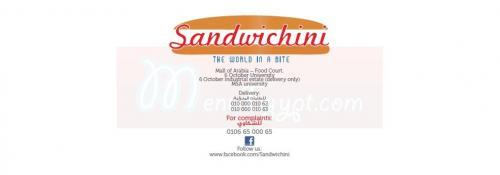 Sandwichini menu Egypt 6