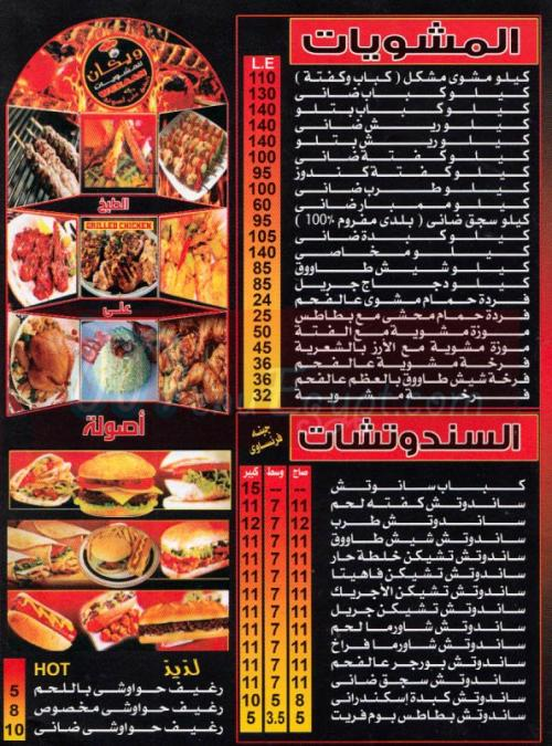wekaan menu