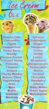 Paradiso Creamy menu