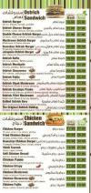 Bonny delivery menu