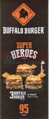 Buffalo Burger menu Egypt 1