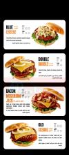 Buffalo Burger delivery menu