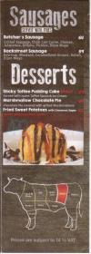 Butcher House menu prices