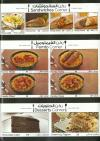 Chef Sarhan menu Egypt