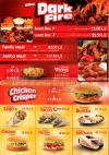 Chicken Regos menu
