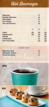 Cinnabon menu Egypt