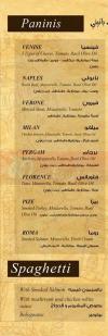 Creperie Des Arts menu Egypt