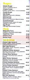Euro Deli menu