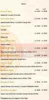 Fusion menu Egypt