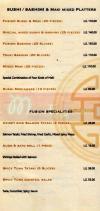 Fusion online menu