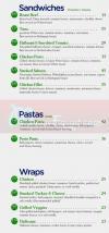 Goodcals menu