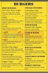 Gourmet Burger Cairo-GBC menu