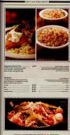 Johnny Carinos menu Egypt 3