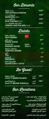 Just Falafel delivery menu