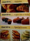 Maestro menu Egypt