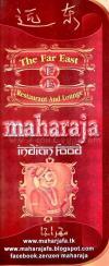 Maharaja online menu