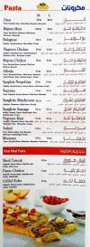 Majesty delivery menu
