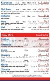 Majesty menu Egypt 1
