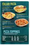 Pizza King menu Egypt