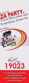 Pizza Party menu Egypt 1