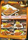 Prego menu Egypt
