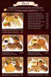 Roastery menu