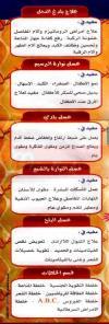 Royal Bees menu Egypt