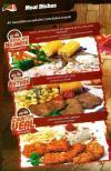 Sahraan menu