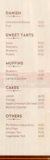 TBS-The Bakery Shop menu prices