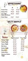 Waffle Maker menu Egypt