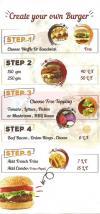 Waffle Maker menu