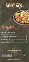 Wok and Walk menu Egypt